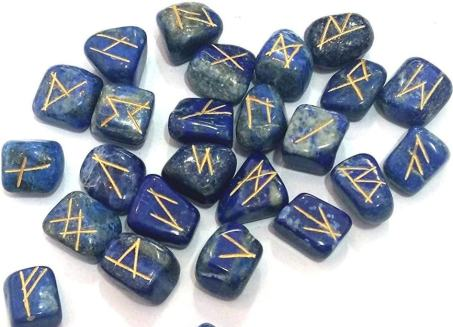 Runes for divination a gift from Odin