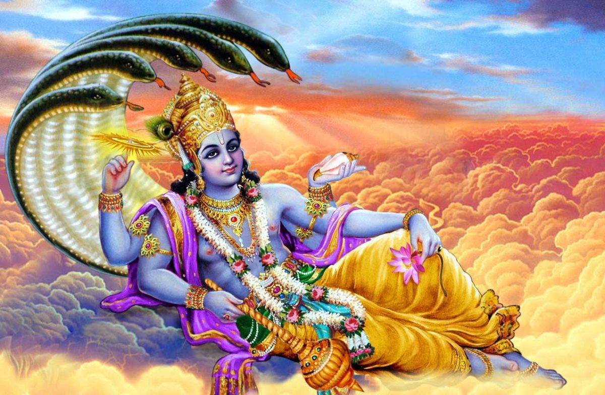 Dhanvantari, the God of medicine