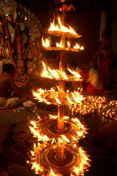 Light a Lamp, use the power of Agni