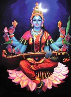 Gayatri Mantra, Devi Sarasvati, Raja-gun and Agni