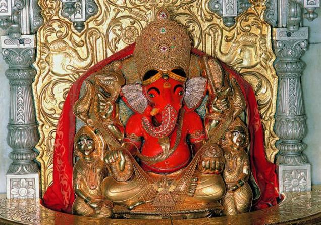Ganapati, his trunk, Pravrutti and Nivrutti