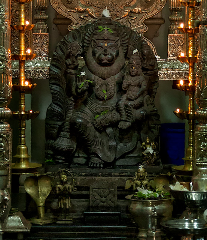 Narasimha temple, Veling